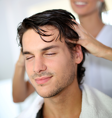 stress relief &hair spa treatments for men at skulpt makeup bar chennai