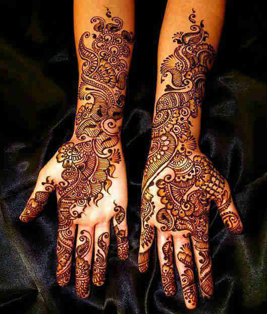 Bridal mehandi in chennai by wedding makeup artist