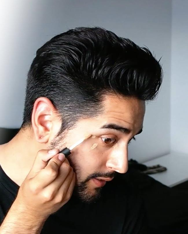 Groom wedding makup tips