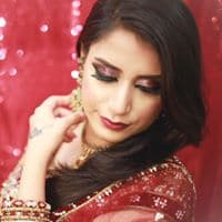 Airbrush bridal makeup by Professional makeup artist in chennai