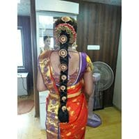 bridal hairstyles by wedding makeup artist in chennai