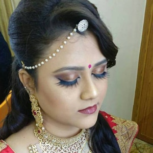 Bridal hairstyles by skulpt wedding makeup artist in chennai
